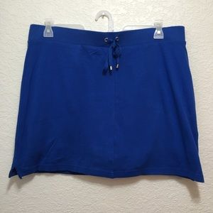 💎 Croft & Barrow Skort Blue Stretch